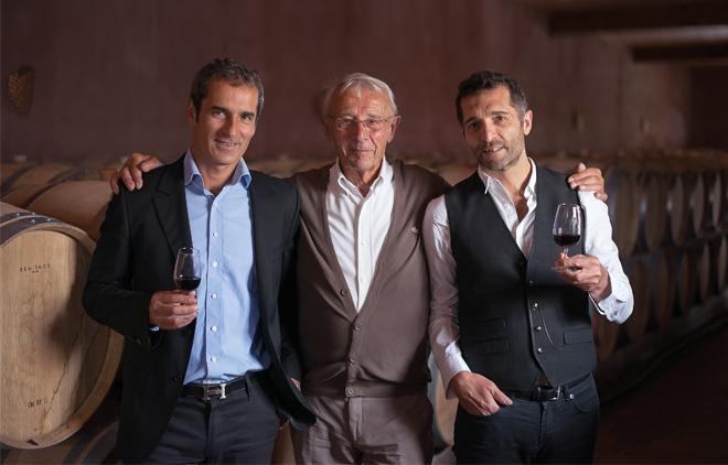 Patrick, Serge et Jacques Bouey