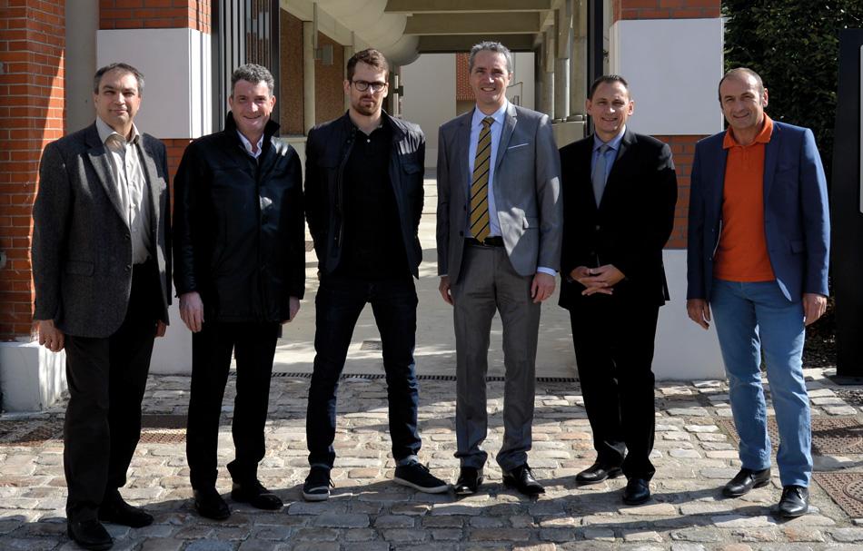 S. Walasiak, O. Charriaud, A. Rosengren, B. Glory, D. Rieu, Frédéric (S.I.)