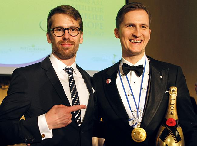 Jon Arvid Rosengren vainqueur en 2013 à San Remo a félicité son successeur letton.