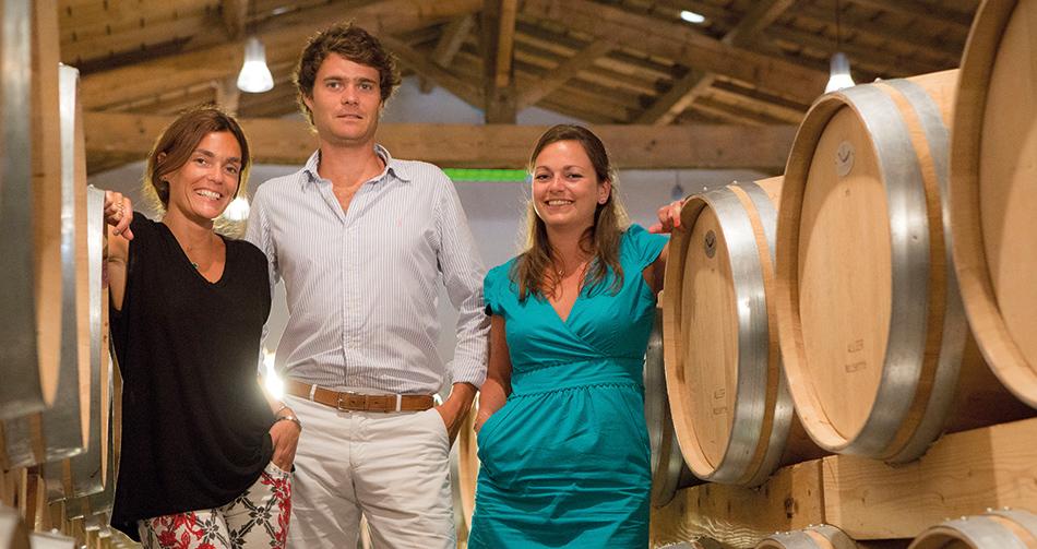 Véréna Raoux, Alexis Raoux et Sophie Castel