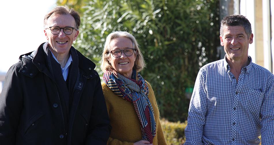 Paolo Basso, Hélène Brochet et Yves Delsol