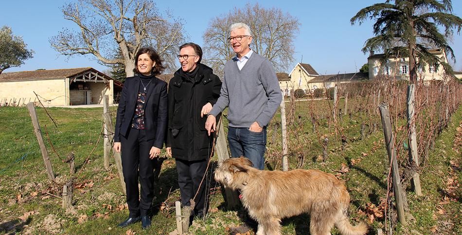 Marie-Laure Latorre, Paolo Basso et Olivier Decelle