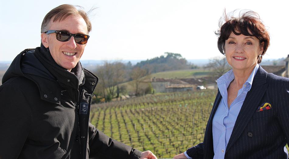 Paolo Basso et Brigitte Rullier Loussert