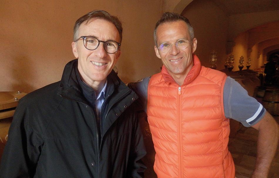 Paolo Basso et Frédéric Magnien