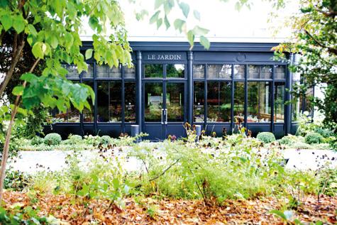 Domaine les cray res un lieu charg d histoire n sous le signe du champagne sommeliers - Jardin des crayeres menu ...