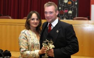 Gaëtan Bouvier et son épouse