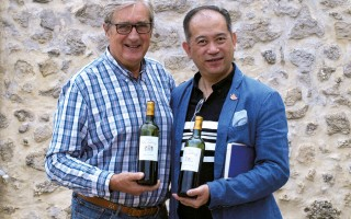 Bernard Audoy et Nelson Chow