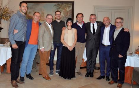 Yann et Frédéric (SI), T. Hamon, A. Rosengren, H. Pignio, O. Collin, E. Beaumard, M. d'Hainaut et G. Olivier