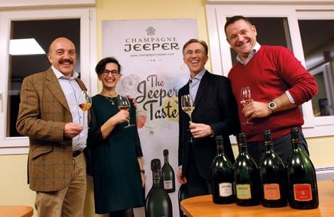 Gérard Basset, Marie-Luce Thiery, Paolo Basso et Nicolas Dubois