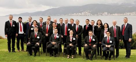 La grande famille de la sommellerie corse était réunie à Ajaccio pour encourager les cinq candidats.