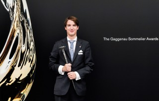 Lauréat du prix Gaggenau Sommelier Awards 2016, Marc Almert.
