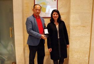 Nelson Chow et Anne Le Naour