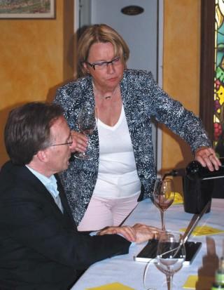 Marie-Hélène Lévêque et Paolo Basso