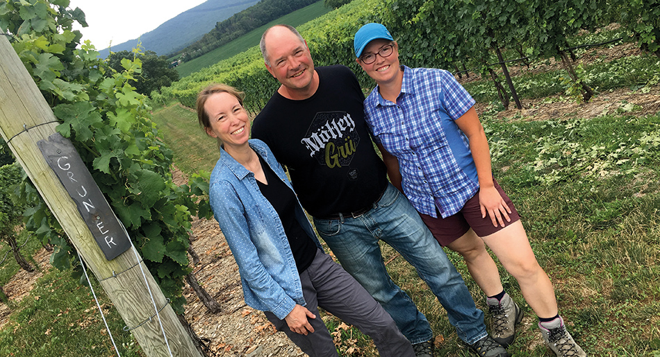 Galen Glen Winery, the Troxell family