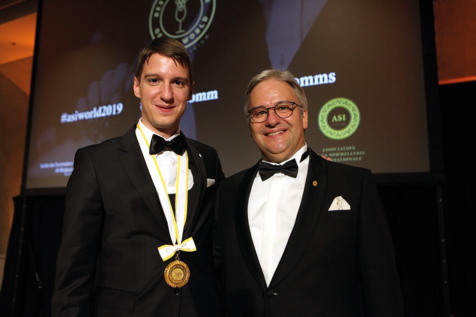 Markus Del Monego, vainqueur du concours mondial en 1998, et Marc Almert font désormais de l'Allemagne un pays aussi titré que la Suède.