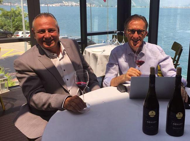 Pascal Piégay et Paolo Basso